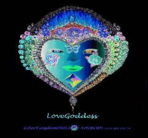 LOVE GODDESS-solarized