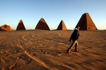 Pyramids_Suden ancient Africa Nile Civilization